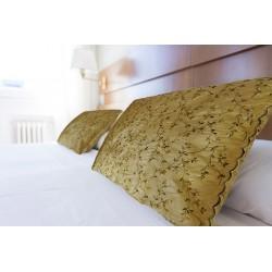 Cuscino (federa) taffetas giallo