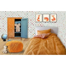 Mandarin orange duvet cover