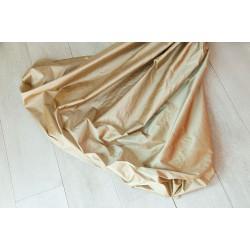 Scampoli 100% seta colore bronzo