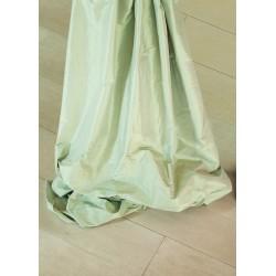 Scampoli 100% seta colore verde salvia