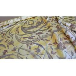 Scampoli in Taffetas stampato bianco, nero e oro