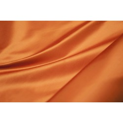 Satin plain colored double face offcut